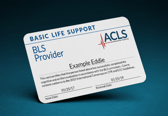 bls certification recertification acls renewal course provider professionals